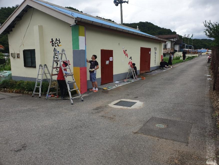 (30일) 한산면 지현2리, 마을 벽화로 산뜻하게 변신 (3).JPG